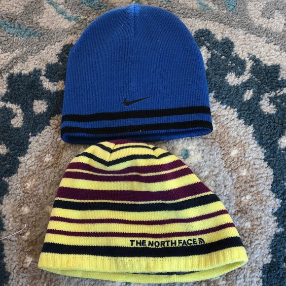 The North Face Other - The North Face and Nike boys hats